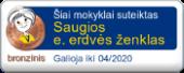 Saugios e. erdvės ženklas